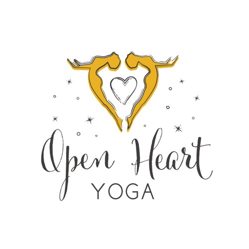 Logo design proposal for a yoga teacher.