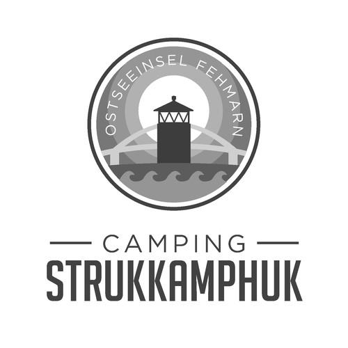 Logo for a camping/ Logo para um acampamento