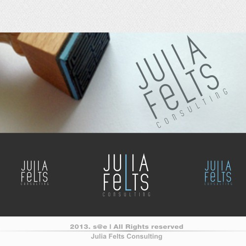 Help Julia Felts Consulting with a new logo