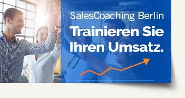 Salescoaching Anzeige für Website
