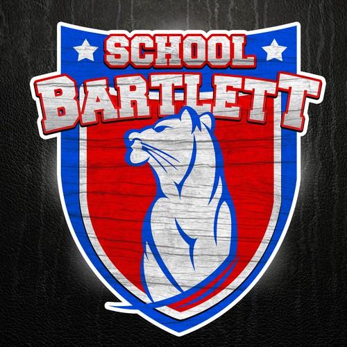 Create a new Panther logo for Bartlett High School