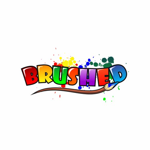 brushed