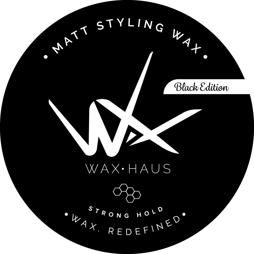 Design of Professional Designer Hair Wax Product Packaging - The Wax Haus