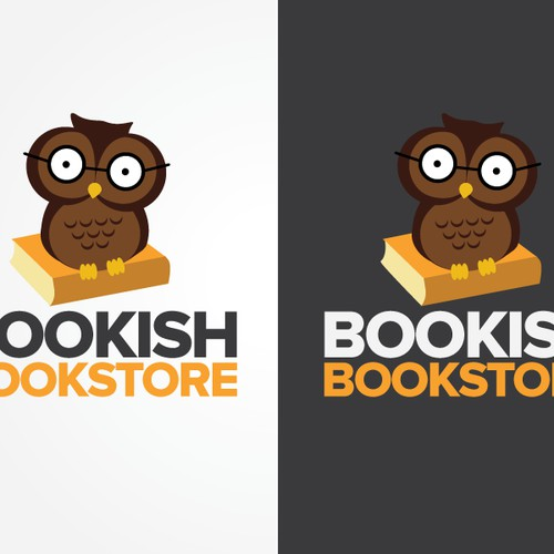 """Logo needed for awesome little bookstore, """"Bookish"""""""