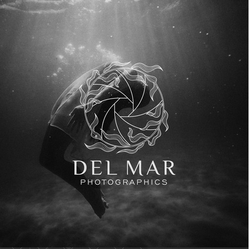 Logo concept for Del Mar Photographics