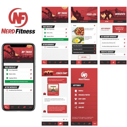 Nerd Fitness Trainer App