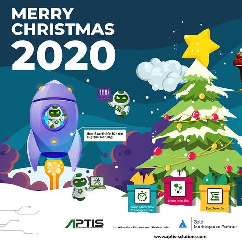 Christmas calendar project for Aptis