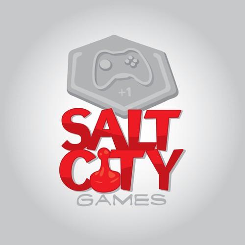 Salt City Games concept logo