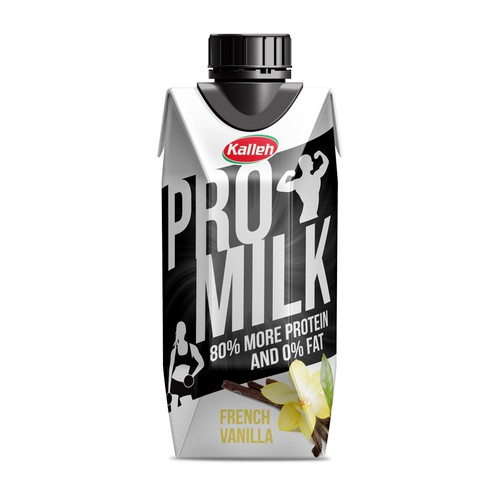 ProMilk Packaging Design