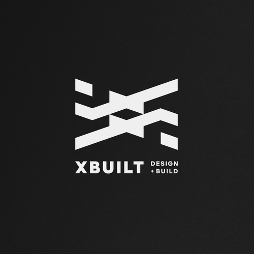 Tasteful and Professional new Architecture Firm Logo for XBUILT design + build