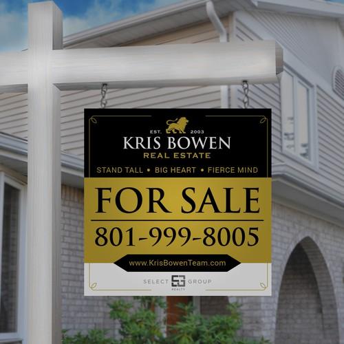 Real Estate Classic Signage Design