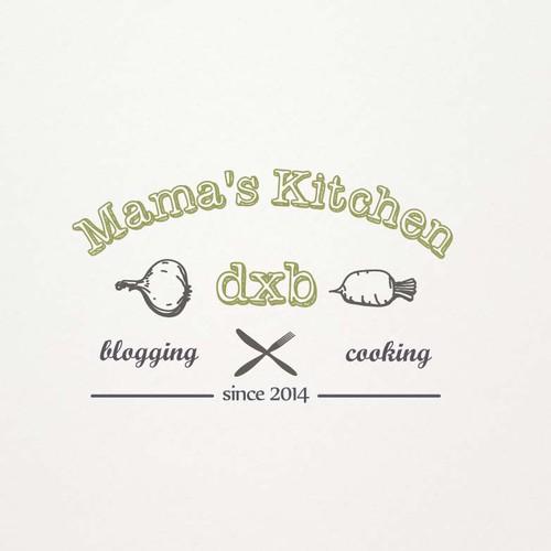 Design a logo for a recipe blog
