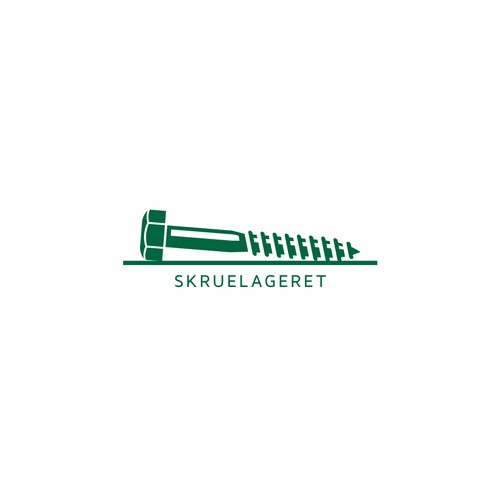 Logo design for screw shop
