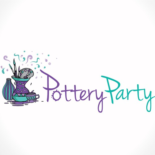 Fun & Funky Logo Needed for Pottery Party