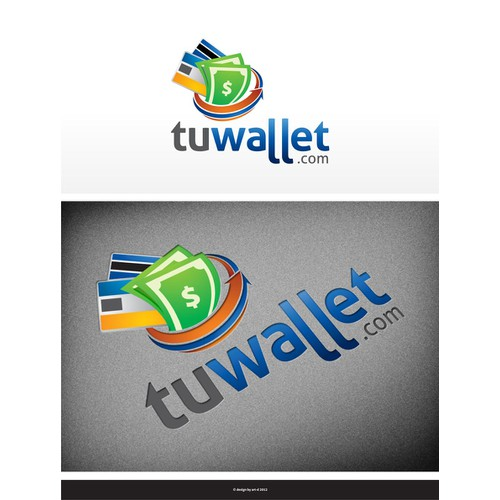 Create the next logo for tuwallet.com
