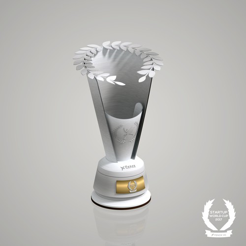 Trophy design for Startup World Cup 2017