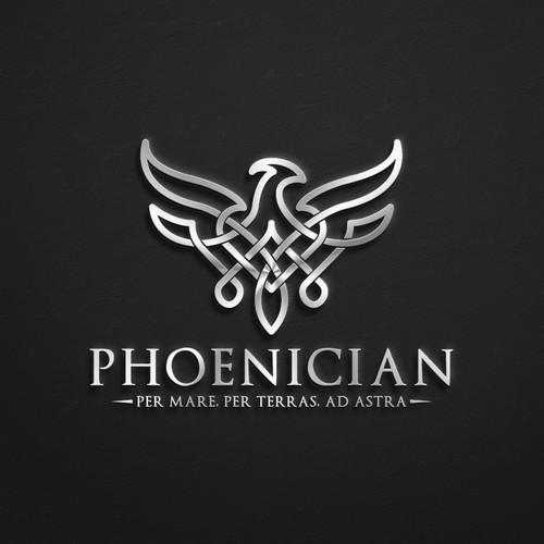 Phoenix Celtic knot logo