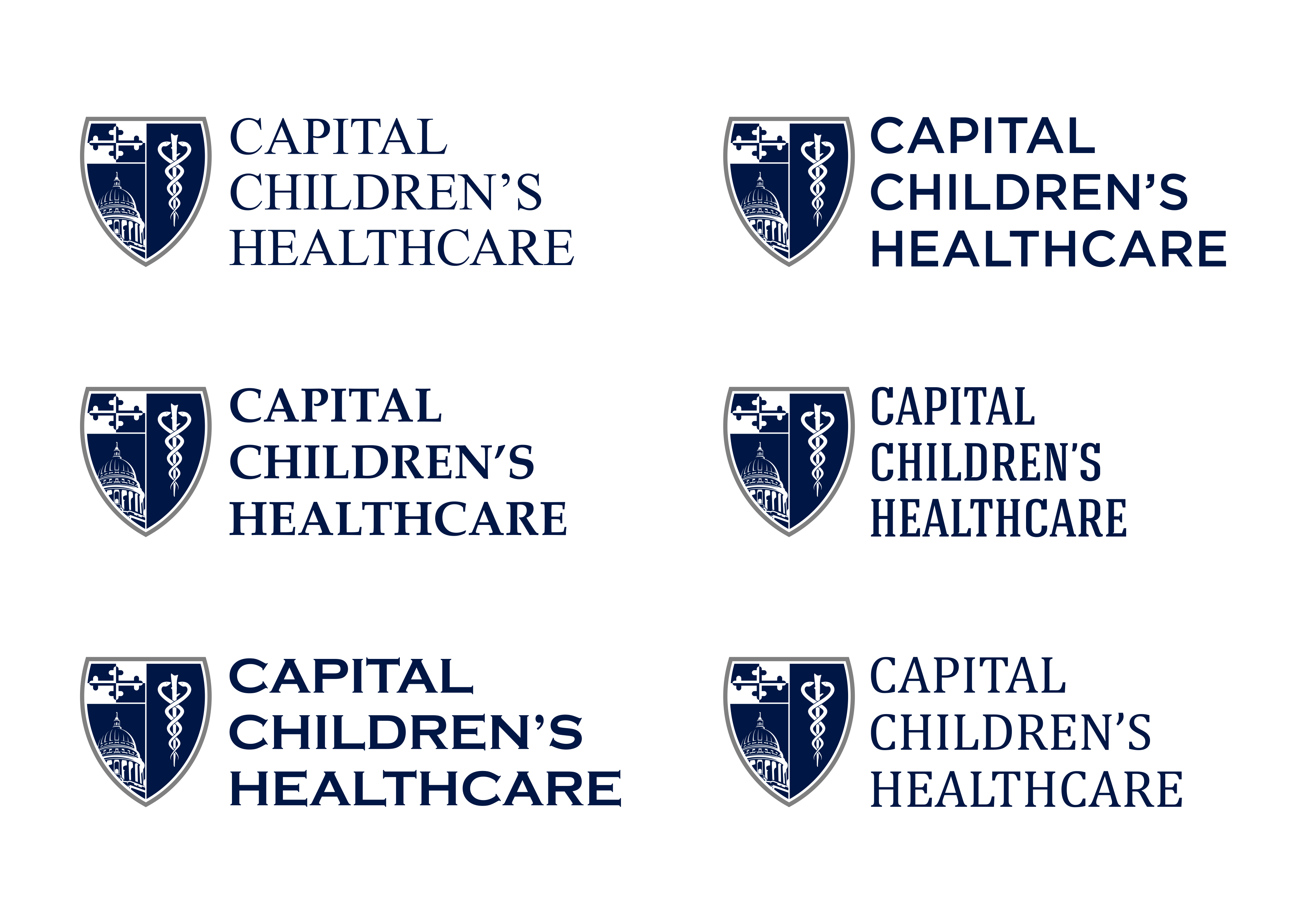 Design a Simple Medical Shield for Capital Children's Healthcare