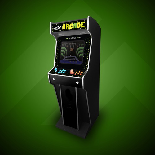 Multi Games Arcade Machine
