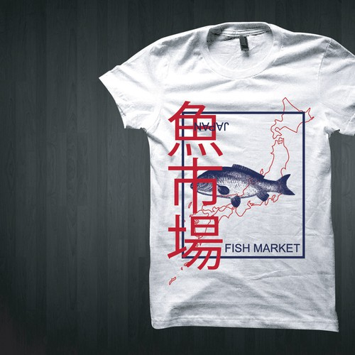 ASIAN INSPIRED VINTAGE T SHIRT GRAPHICS
