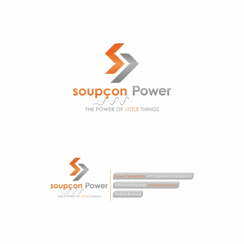 Logo Concept for a start-up & energy company