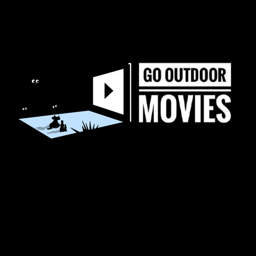 Logo for outdoor cinema
