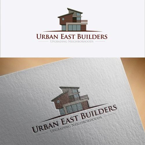 Create a Clean Modern Branding Logo for Urban East Builders!