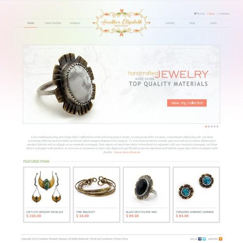 New website design wanted for Heather Elizabeth Designs