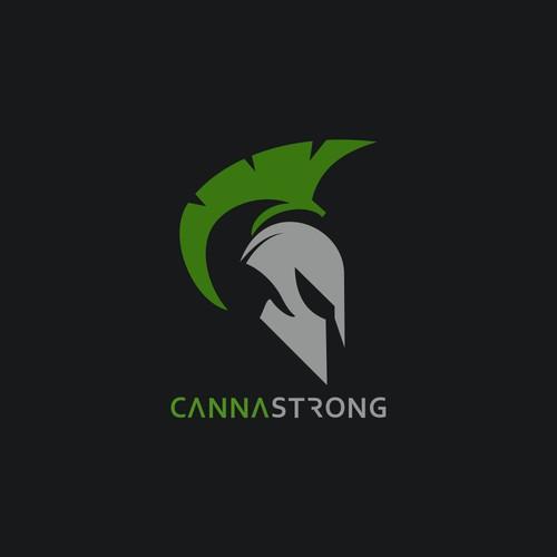 CannaStrong logo concept