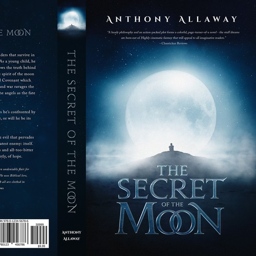 The Secret of the Moon - Book cover