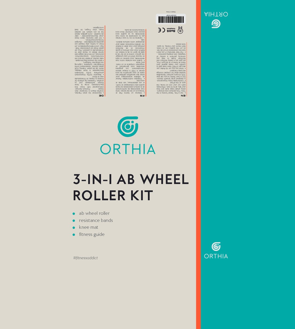 Orthia Needs an Attention Grabbing and Perceived Value Increasing Packaging For Ab Wheel