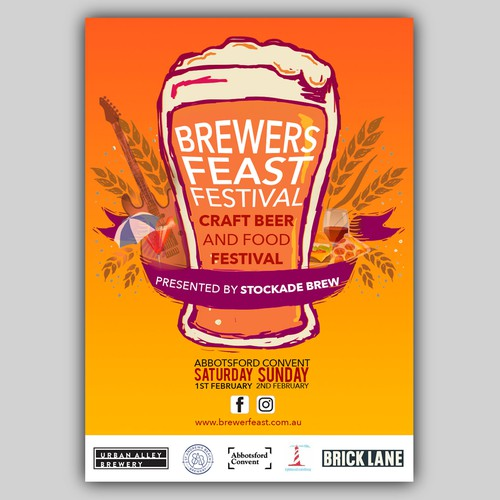Brewers Feast 2020 Poster
