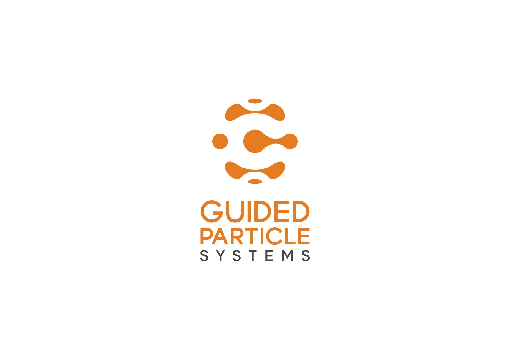 Guided Particle Systems Logo Design