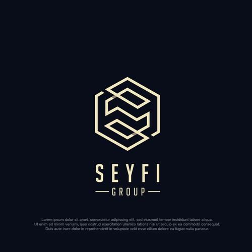 SEYFI group logo design 2