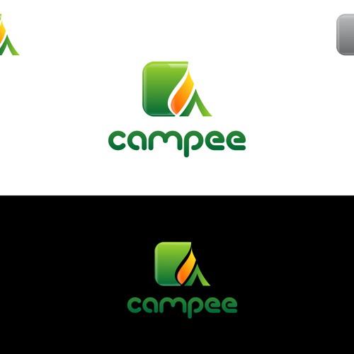 Campee an outdoor recreation community app & website needs a Logo Design