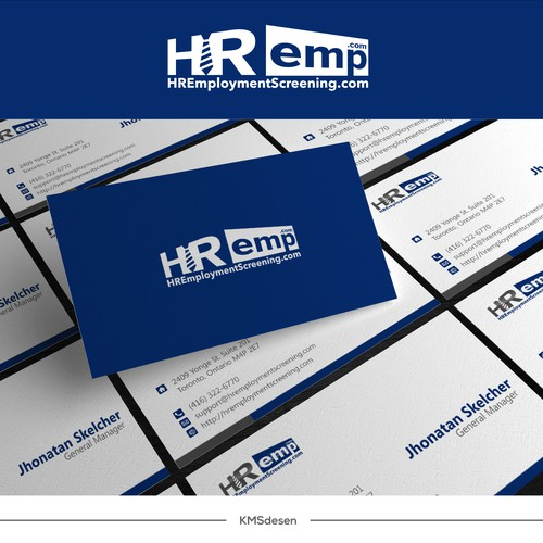 Create a logo for HREmploymentScreening.com