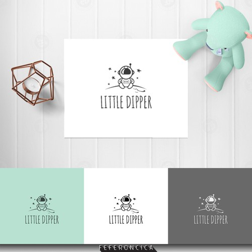 logo concept for kids fashion