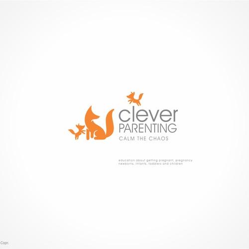 Clever logo for a Parenting Advice website
