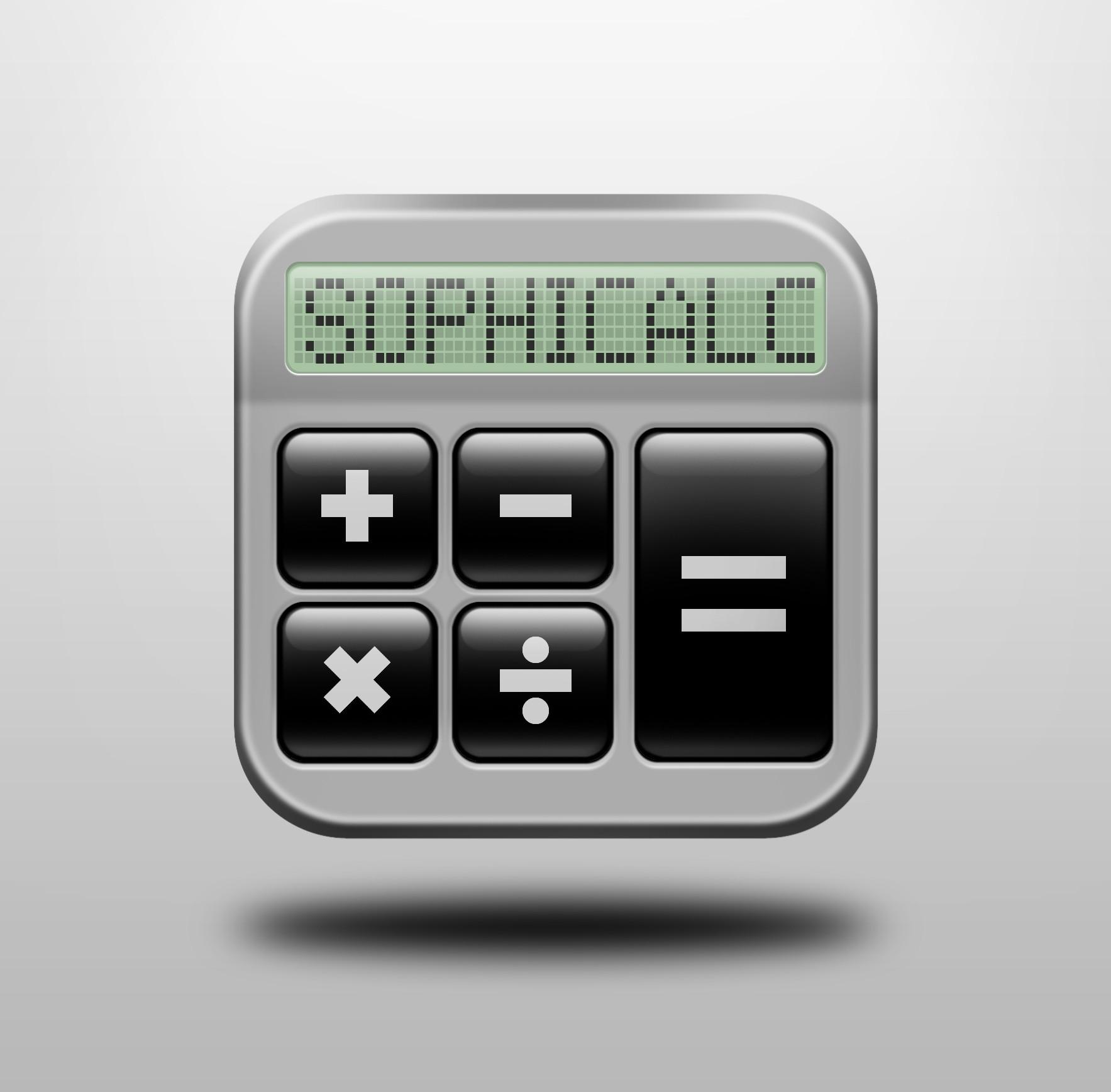 SophiCalc benötigt ein icon or button design