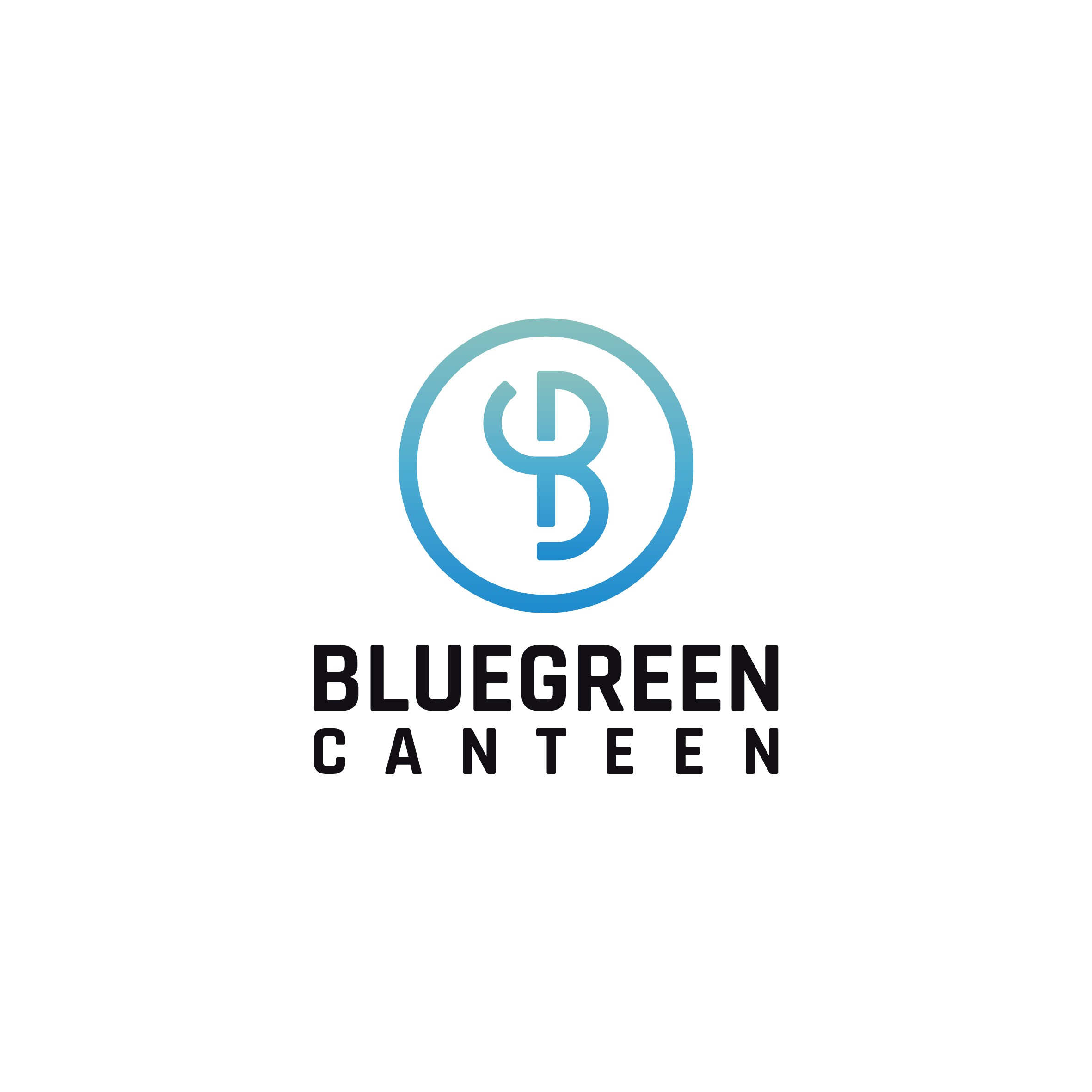 Create from scratch an upscale, modern/contemporary,chic, sophisticated, logo for Bluegreen Canteen.