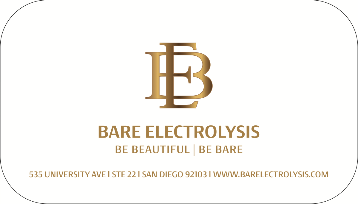 Bare Electrolysis business cards