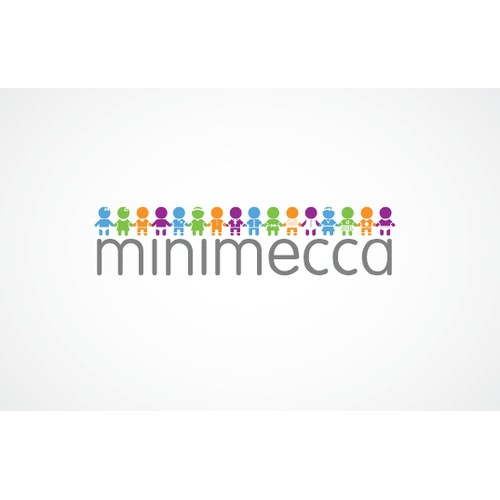 Modern/creative LOGO for online kids boutique - minimecca