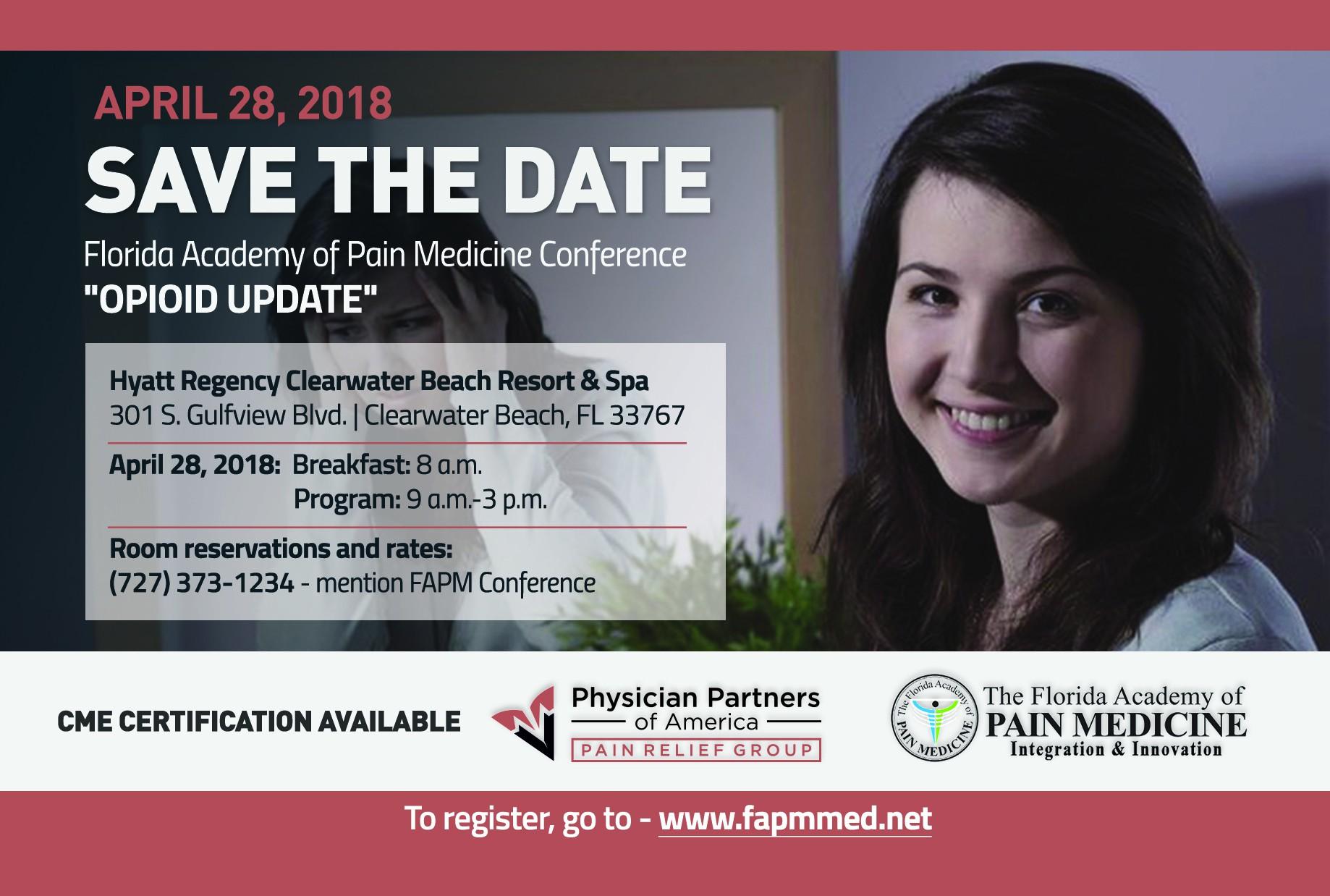 FAPM Save the Date  Notice