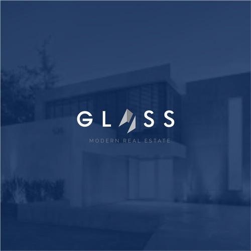 Glass Real Estate Logo