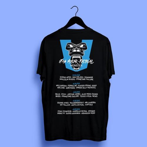 T-Shirt Design For iFAN MUSIK-FESTIVAL
