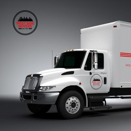 Truck Wrap for NY Moving Company