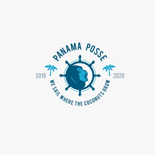 Panama Posse logo design.