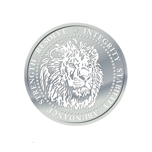 Inspirational Silver Coin Design