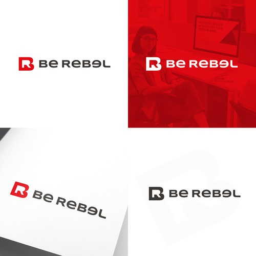 "Logo Concept for ""Be Rebel"""
