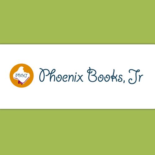 logo for PB&J (Phoenix Books, Jr.)